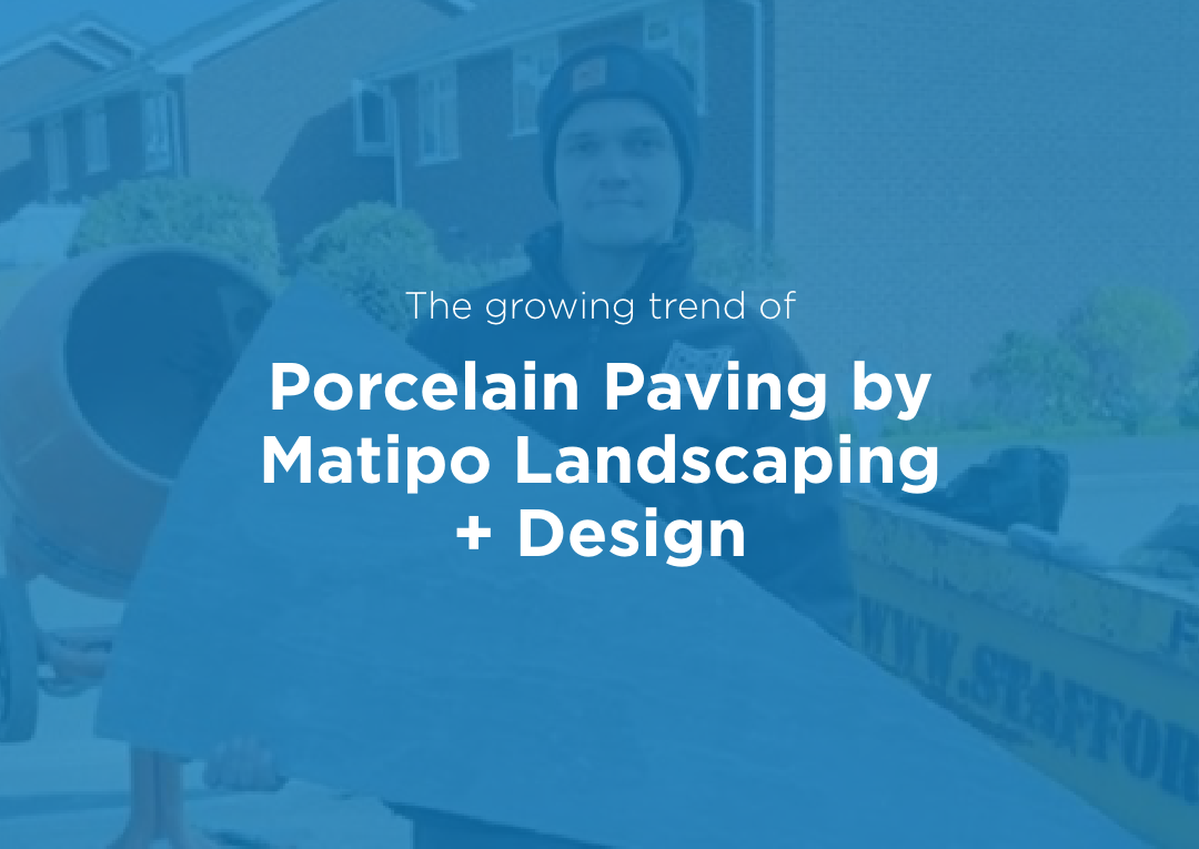 The Growing Trend of Porcelain Paving